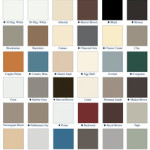 Available gutter colors